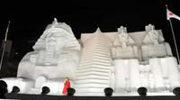 大雪像 エジプトの遺跡