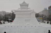 大雪像 国宝 犬山城