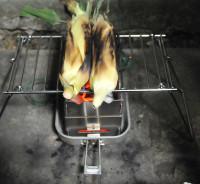 蒸し焼きトウモロコシ