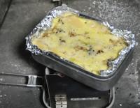 チーズが溶けた(=´∇`=)