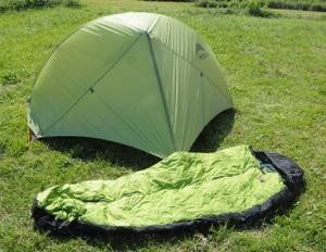 緑のHubba HPと緑のNANGA