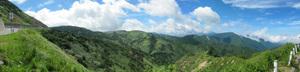 横手山から遠景パノラマ
