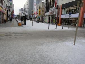 旭川駅前歩道