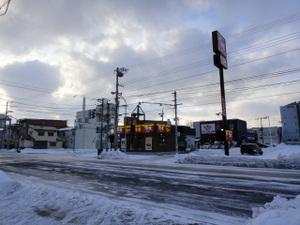 日本最北端のすき家
