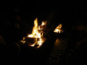 並ぶ焚き火台