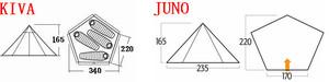 Vango Juno 300
