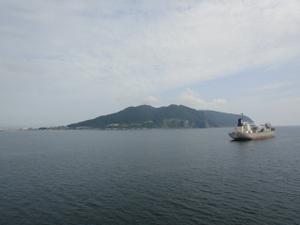 函館山の横