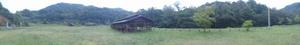 キャンプ場パノラマ写真