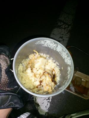 ホタテで炊き込みご飯