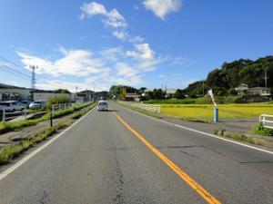 国道4号(東北道矢吹IC付近>8:30)