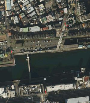 しおかぜ橋 航空写真