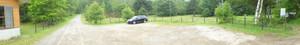 駐車場&キャンプスペースその1