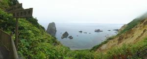 島武意海岸展望台