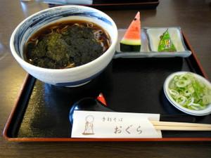 白神海苔蕎麦