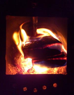 炉内の様子
