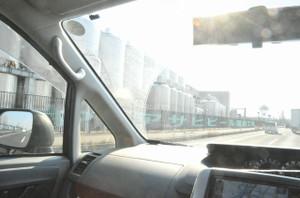 アサヒビール福島工場横