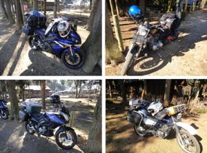 参加者のバイク