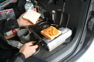スパゲティサンド