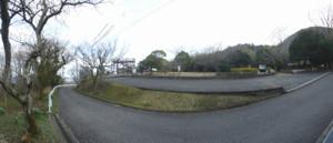 0道路側からのパノラマ1