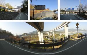 多々羅大橋入口
