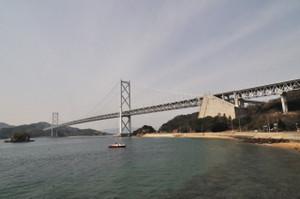 因島大橋を振り返り