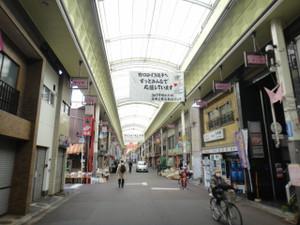 裏道を繋ぎ京都駅方面