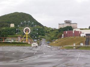 小樽水族館の小さめの観覧車