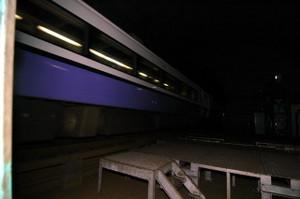 通りかかった列車