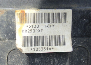 ジェベル250XCの最初期型らしい