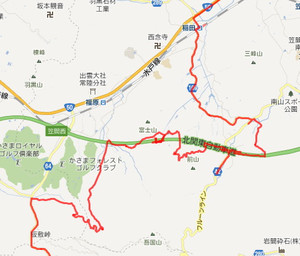 迷走の北関東道周辺