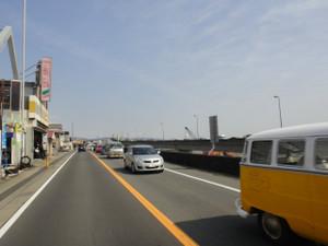 西湘バイパスの渋滞