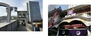 勝鬨橋、歌舞伎座