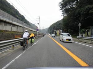 サイクリストがんばれ!