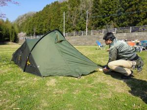 テントはmarmot