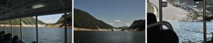 ダム湖周回