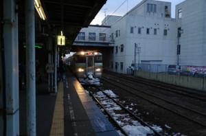電車に乗ろう