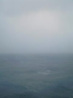 津軽海峡通過中